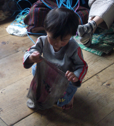floor washing in Bhutan