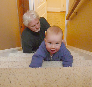 learning to climb stairs