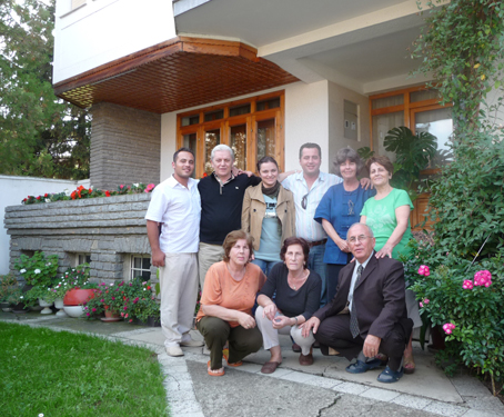 My host family in Kosova