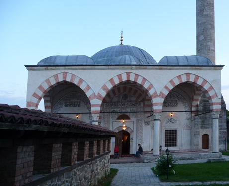 The rebuild Hadum Mosque