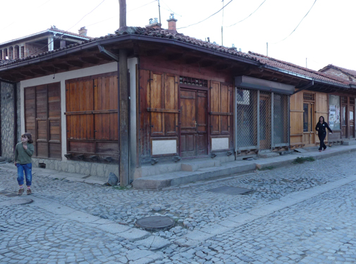 Shops in old Gjakova